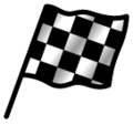 Chequered Flag on SoftBank 2014