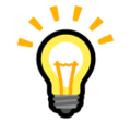 Light Bulb on SoftBank 2014