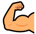 Flexed Biceps on SoftBank 2014