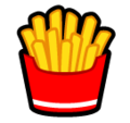 French Fries on SoftBank 2014