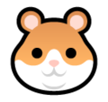 Hamster Face on SoftBank 2014