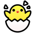 Hatching Chick on SoftBank 2014