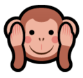 Hear-No-Evil Monkey on SoftBank 2014