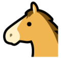 Horse Face on SoftBank 2014