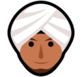Person Wearing Turban on SoftBank 2014