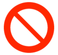 Prohibited on SoftBank 2014