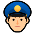 Police Officer on SoftBank 2014