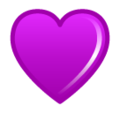 Purple Heart on SoftBank 2014