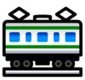 Railway Car on SoftBank 2014