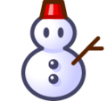 Snowman Without Snow on SoftBank 2014