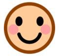 Smiling Face on SoftBank 2014