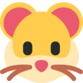 Hamster Face on Twitter Twemoji 11.1