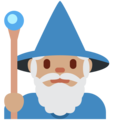 Man Mage: Medium Skin Tone on Twitter Twemoji 11.1