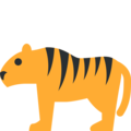 Tiger on Twitter Twemoji 11.1