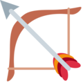 Bow and Arrow on Twitter Twemoji 11.2