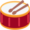 Drum on Twitter Twemoji 11.2