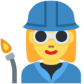 Woman Factory Worker on Twitter Twemoji 11.2
