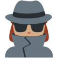 Woman Detective: Medium Skin Tone on Twitter Twemoji 11.2