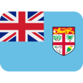 Flag: Fiji on Twitter Twemoji 11.2