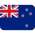 Flag: New Zealand on Twitter Twemoji 11.2