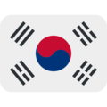 Flag: South Korea on Twitter Twemoji 11.2