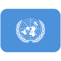 Flag: United Nations on Twitter Twemoji 11.2