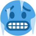Cold Face on Twitter Twemoji 11.2