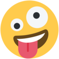 Zany Face on Twitter Twemoji 11.2