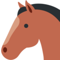 Horse Face on Twitter Twemoji 11.2