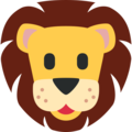 Lion Face on Twitter Twemoji 11.2