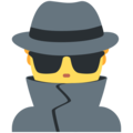 Man Detective on Twitter Twemoji 11.2
