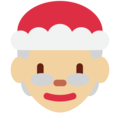 Mrs. Claus: Medium-Light Skin Tone on Twitter Twemoji 11.2