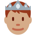 Prince: Medium Skin Tone on Twitter Twemoji 11.2
