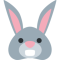 Rabbit Face on Twitter Twemoji 11.2