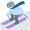Skier, Type-1-2 on Twitter Twemoji 11.2