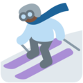 Skier, Type-6 on Twitter Twemoji 11.2