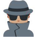 Detective: Medium Skin Tone on Twitter Twemoji 11.2