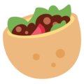 Stuffed Flatbread on Twitter Twemoji 11.2