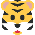 Tiger Face on Twitter Twemoji 11.2