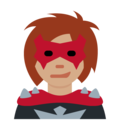 Woman Supervillain: Medium Skin Tone on Twitter Twemoji 11.2