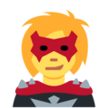 Woman Supervillain on Twitter Twemoji 11.2