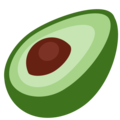 Avocado on Twitter Twemoji 11.3