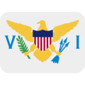 Flag: U.S. Virgin Islands on Twitter Twemoji 11.3