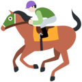 Horse Racing: Light Skin Tone on Twitter Twemoji 11.3
