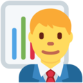 Man Office Worker on Twitter Twemoji 11.3