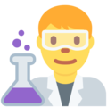 Man Scientist on Twitter Twemoji 11.3