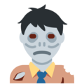 Man Zombie on Twitter Twemoji 11.3