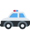 Police Car on Twitter Twemoji 11.3