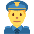 Police Officer on Twitter Twemoji 11.3