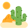 Desert on Twitter Twemoji 12.0